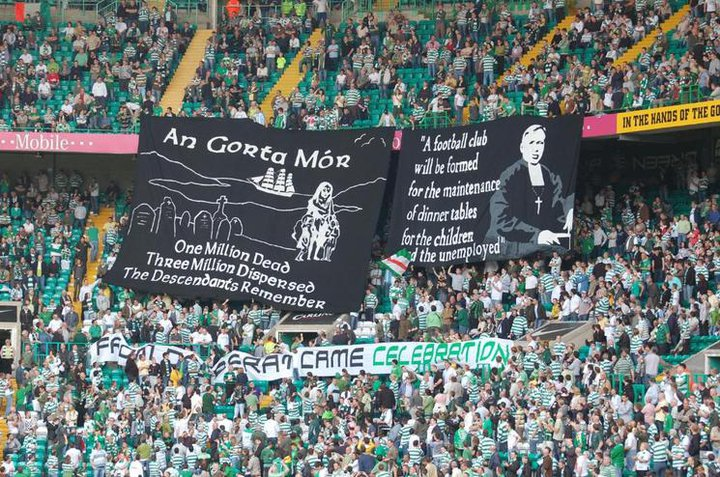 The Great Famine/ Brother Walfrid banners