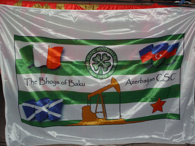 The Bhoys of Baku - Azerbaijan, CSC