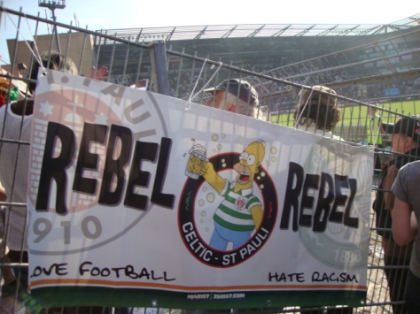 Rebel Rebel - Celtic & St. Pauli!