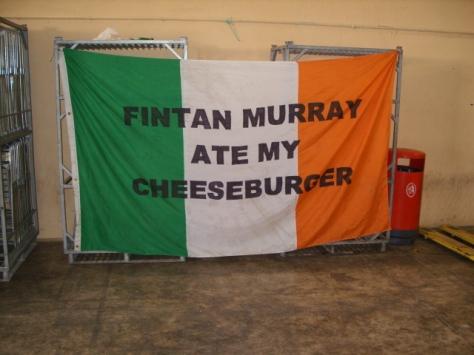 Fintan Murray's Cheeseburger CSC