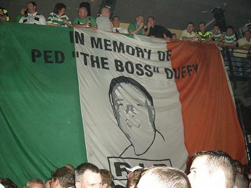 Ped Duffy - Memorial Banner