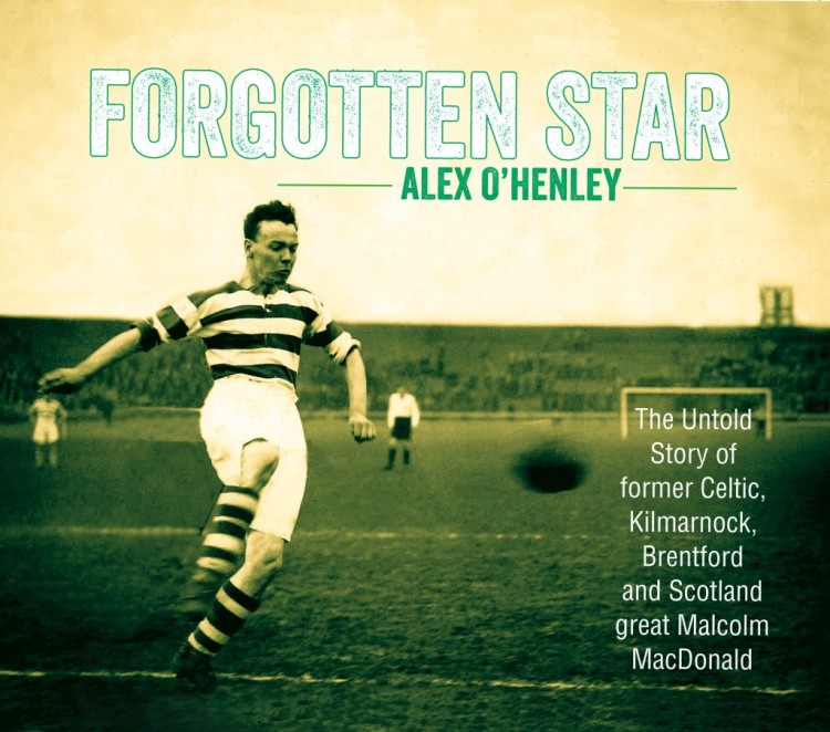 The Malky MacDonald book 'Forgotten Star' in Scotland's Top 20 Sports Books of 2013