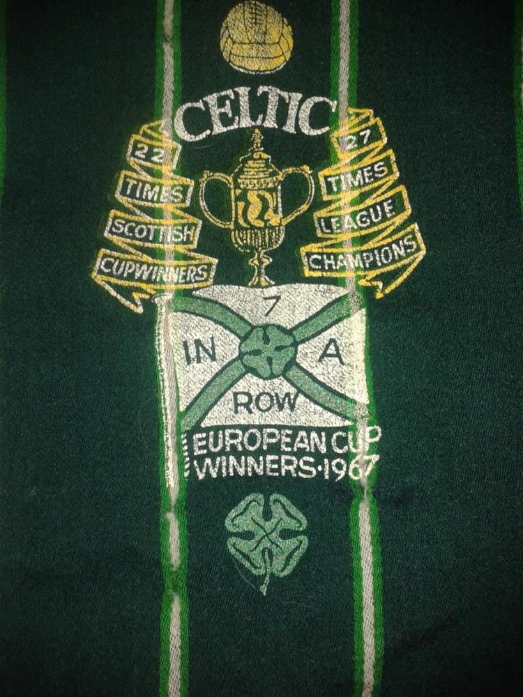 #CelticScarves - 7 in a Row scarf