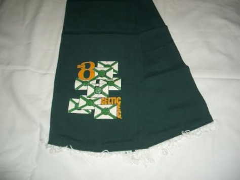#CelticScarves - 8 in a row classic design