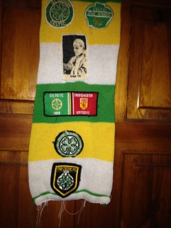 Alan's scarf from the 80s with patches