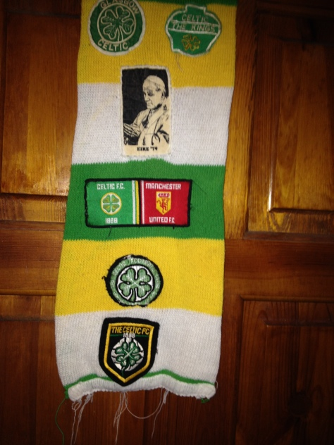 #Celtic Scarves - Back to the '80s!