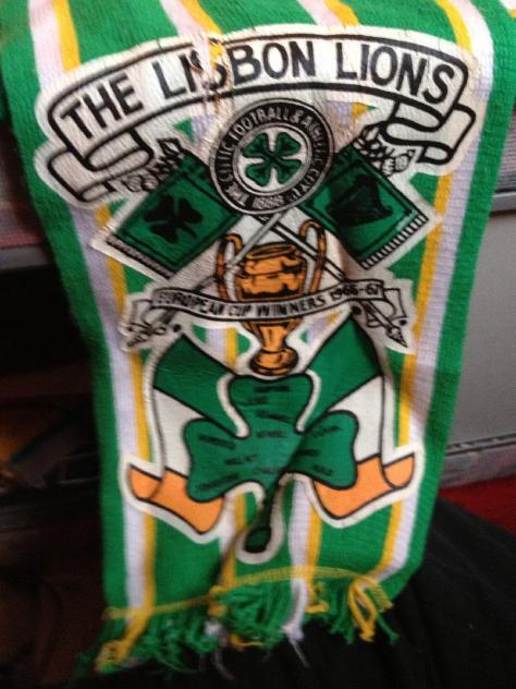 #CelticScarves - The Lisbon Lions