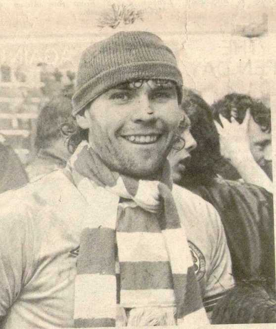 Brian McClair Celtic scarf and tammy