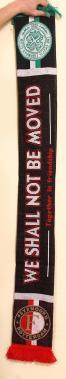 Celtic Feyenoord scarf