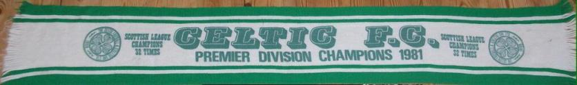 Celtic Research 1981 Champions