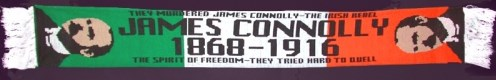 James Connolly scarf