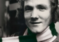 Johnny Doyle with his own scarf