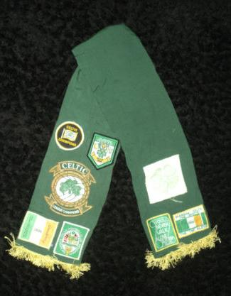 Markybhoy KDS Old style scarf with patches