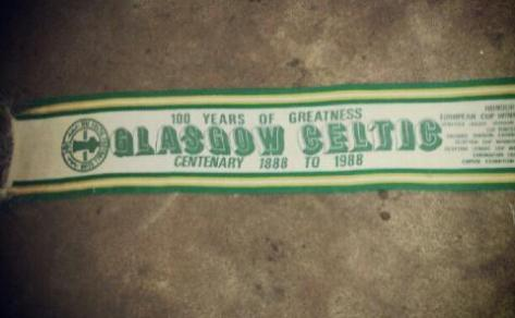 #CelticScarves - Centenary Glory