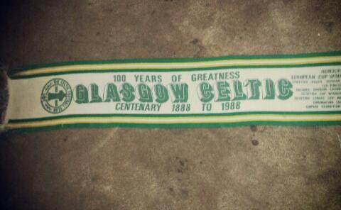 #CelticScarves - Centenary Glory