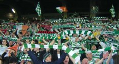 MILAN 2006 Celtic crowd