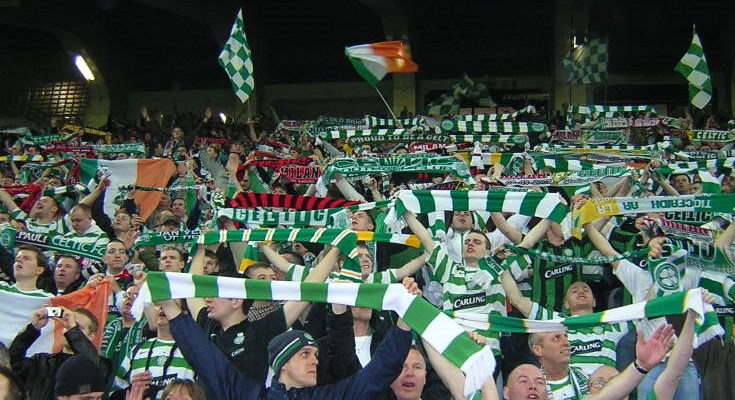 MILAN 2006 Celtic crowd