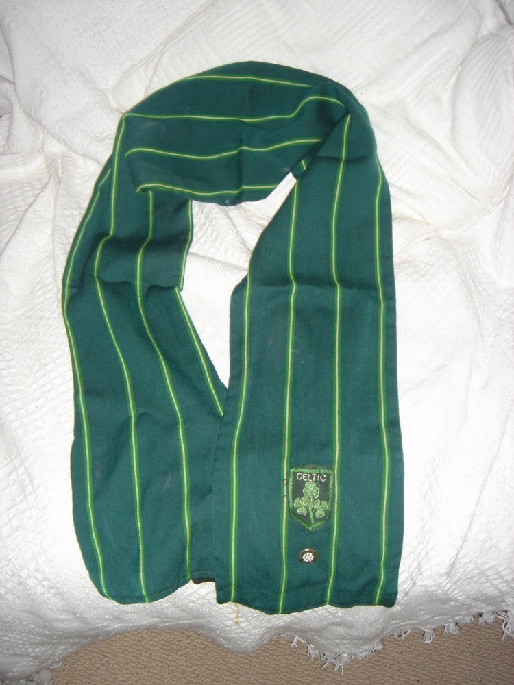 #CelticScarves - Classic pinstripe from 1968