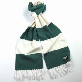 Pablo HB Saville Rogue Hooped Scarf Cashmere
