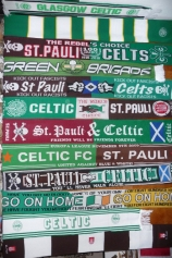 St Pauli Celtic Brotherhood GB forum Various Celt and SP scarves