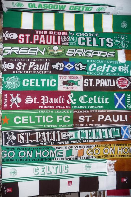 #CelticScarves - Celtic & St Pauli
