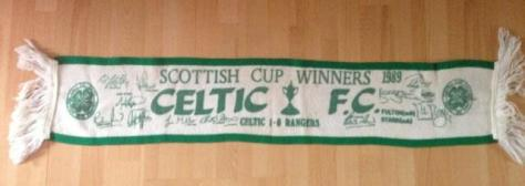 #Celtic Scarves - Scottish Cup Winners 1989