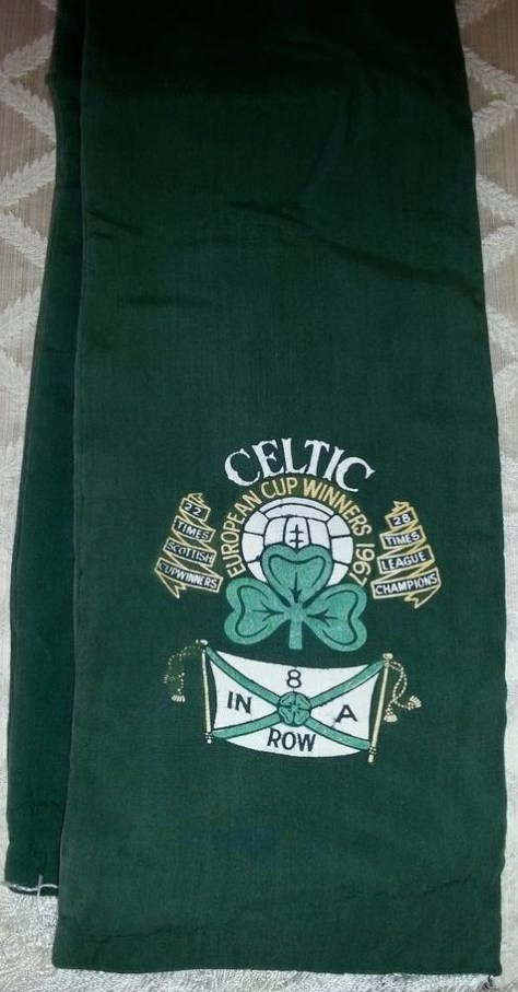 #CelticScarves - 8 In A Row