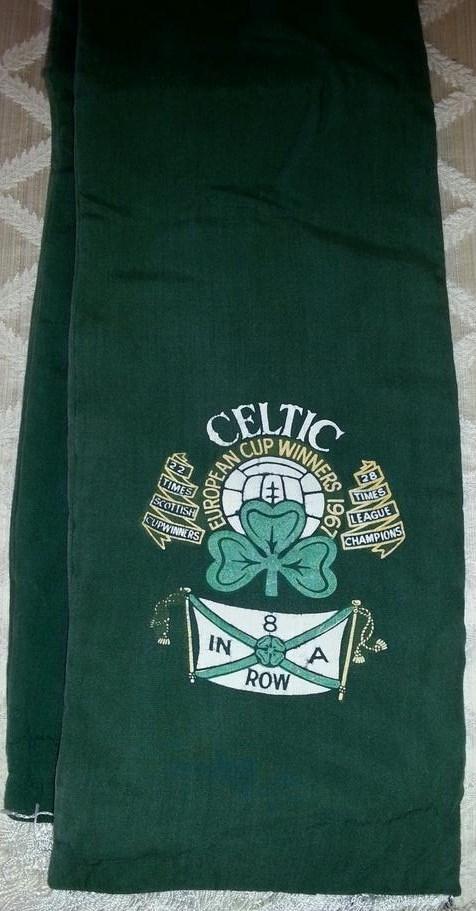 #CelticScarves - 8 In A Row