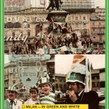 1970 Milan cup final, Celtic fans in square colour