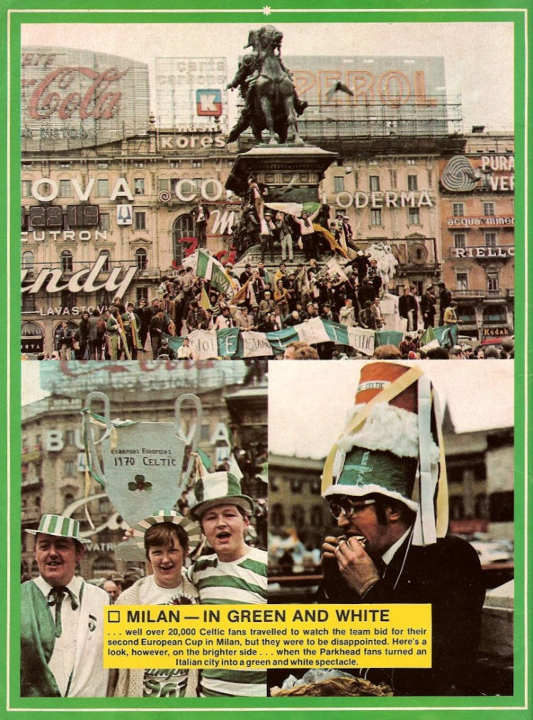 Celtic & Feyenoord 1 - meeting in Milan
