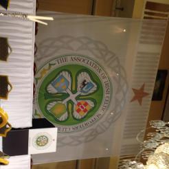 AICSC crest banner white