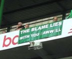 Anti Lawwell banner Aug 15