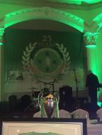 Ballymena Shamrock 25th anni banner