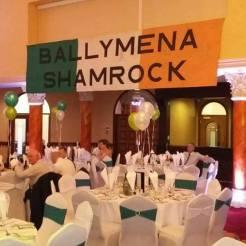 Ballymena Shamrock tricolour internal