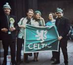 Celtic lion banner, 1970