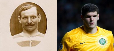 Celtic's Hands of History - A Century Apart