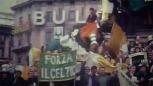 Forza Celtic banner colour Milan 1970