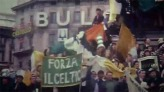 Forza Celtic banner colour Milan 1970