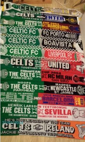 #CelticScarves - Half and Half heaven!
