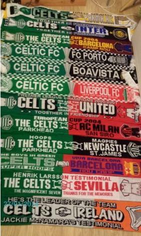 #CelticScarves - Half and Half heaven!