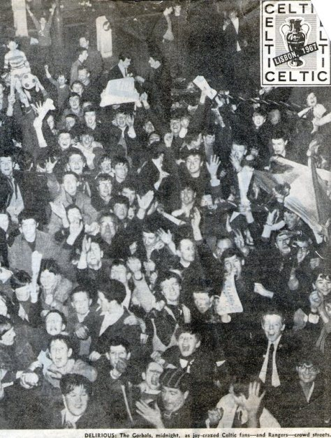 25.5.67 - They didn't just party in Lisbon . . .