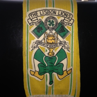 #CelticScarves - Lisbon Lions, in glorious technicolour!