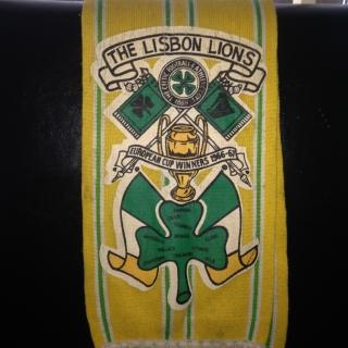 #CelticScarves - Lisbon Lions, in glorious technicolour!