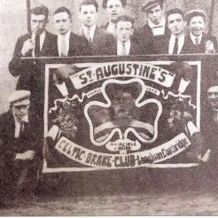 St Augustines Langloan Coatbridge Jimmy Quinn banner