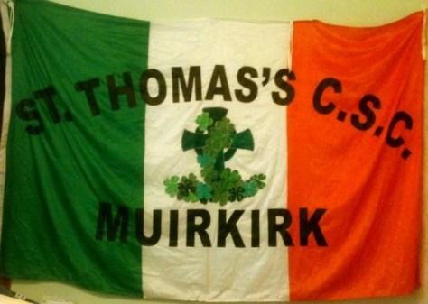 St. Thomas CSC, Muirkirk, Ayrshire - flag