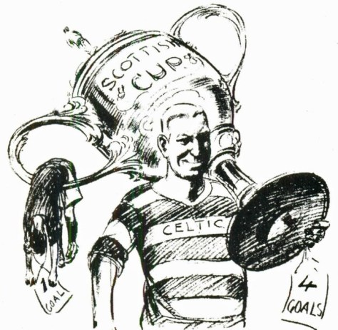 'Tic Toons:   Sunny Jim Young, Celtic Captain