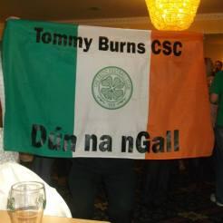 Tommy Burns CSC Donegal tricolour