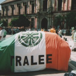 Tralee CSC banner in Seville