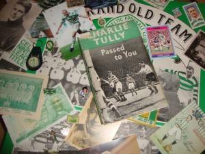 Tully book cover and memorabilia