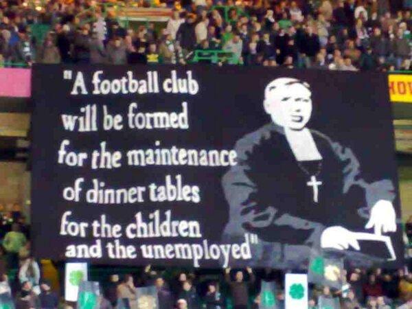 Walfrid A football club . . . banner